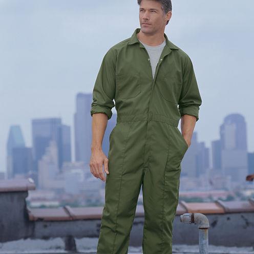 Parasuit Long-Sleeve Jumpsuit–Big & Tall