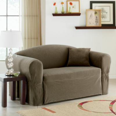Maytex Smart Cover® Collin Stretch 1-pc. Loveseat Slipcover