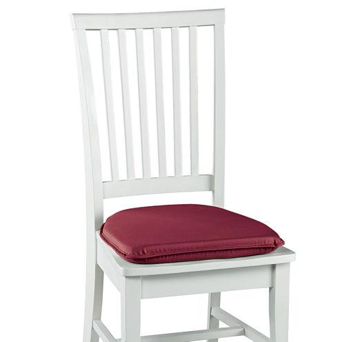 """Klear Vu Microsuede Gripper® 2-Pack 2"""" Chair Cushions"""