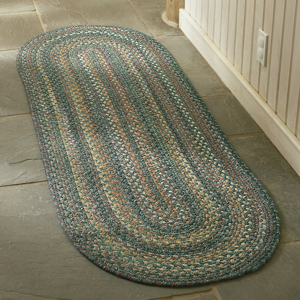 Capel American Traditions Braided Wool Oval Runner Rug Jcpenney