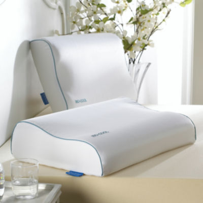 isotonic isocool memory foam contour pillow
