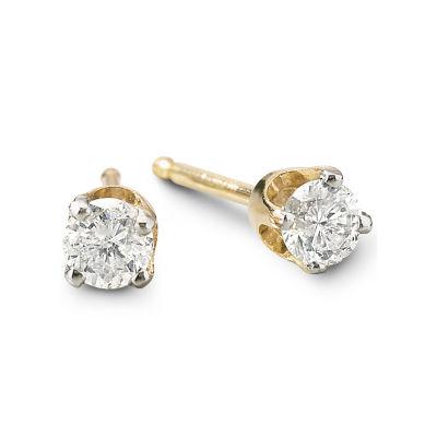Diamond Stud Earrings 1/4 CT. T.W.