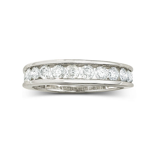 1 CT. T.W. Diamond 10K Wedding Band