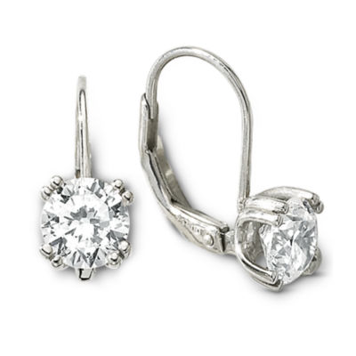 DiamonArt® 1.75 CT. T.W. Cubic Zirconia Earrings