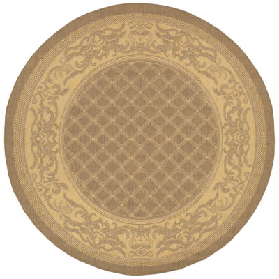 Couristan® Garden Lattice Indoor/Outdoor Round Rug