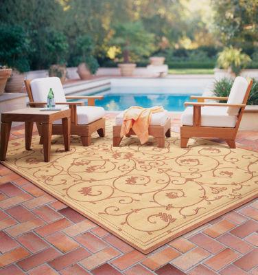 Couristan® Veranda Indoor/Outdoor Rectangular Accent, Area & Runner Rugs