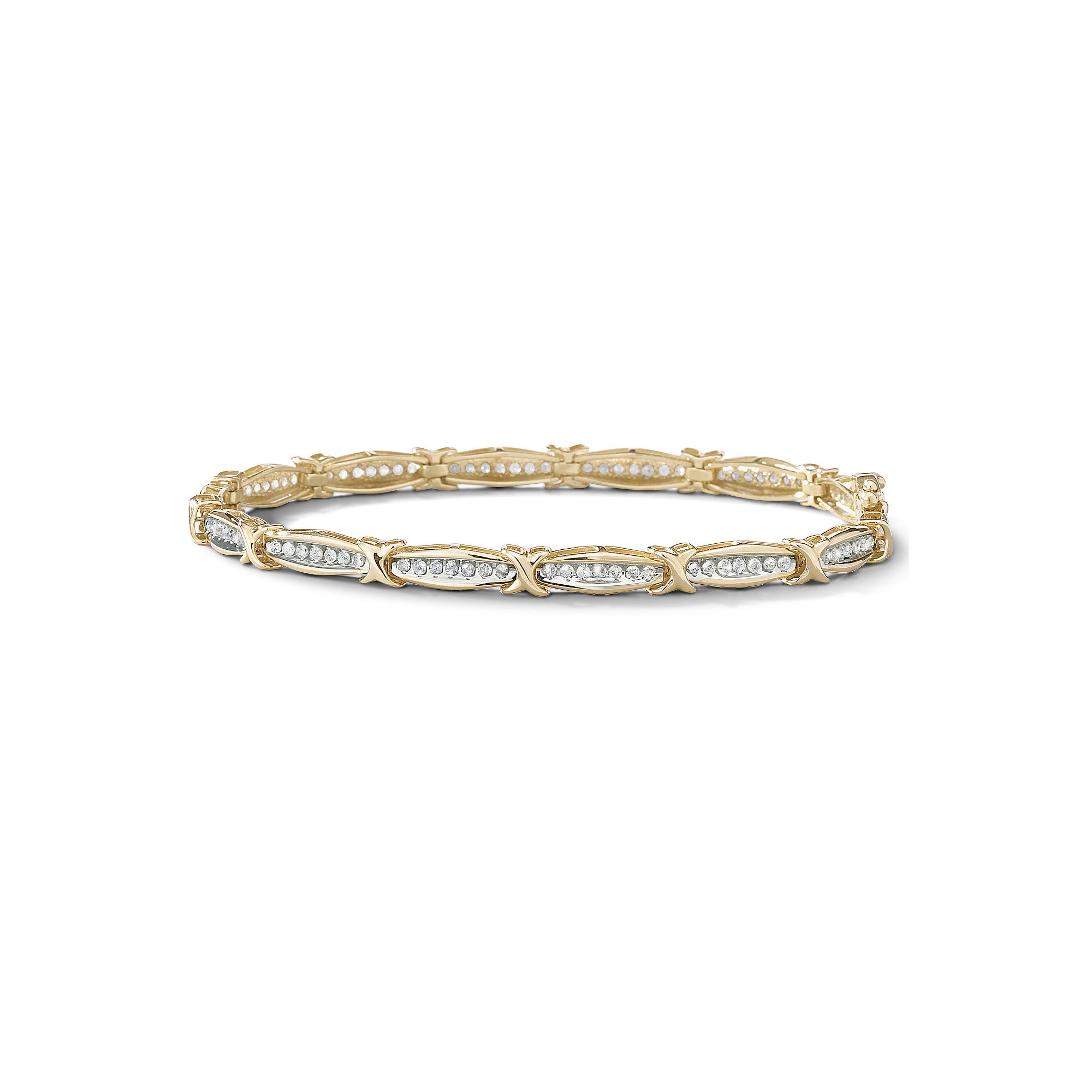 1 CT. T.W. Diamond Tennis Bracelet