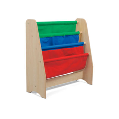 Kids Sling Bookshelf - Primary Colors