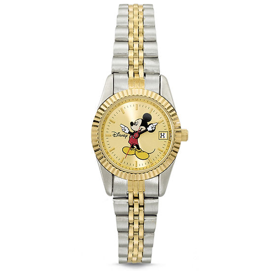 Disney Womens Mickey Mouse Bracelet Watch