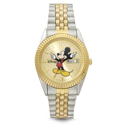 Disney Mens Mickey Mouse Bracelet Watch