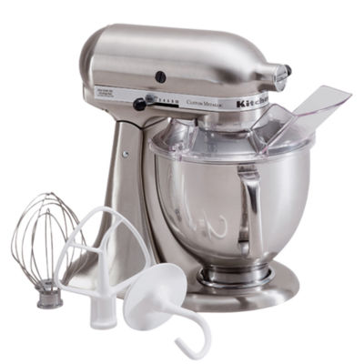 KitchenAid® Custom Metallic® Series 5 Quart Tilt-Head Stand Mixer KSM152PS