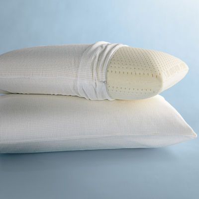Latex Foam Pillow with BONUS Cover