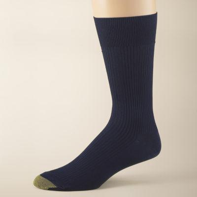 Gold Toe® 3-pk. Dress Manhattan Non-Binding Crew Manhattan Socks