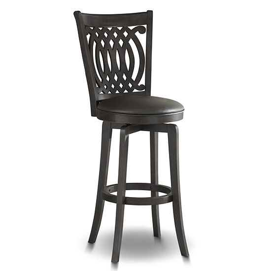 Drake Swivel Barstool with Back