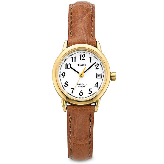 Timex® Easy Reader Womens Gold-Tone Watch