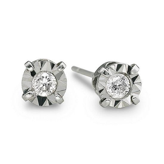 a8fb120cb3e93 1/5 CT. T.W. Diamond Stud Earrings 10K White Gold