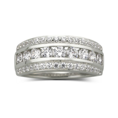 DiamonArt® 1-1/10 CT. T. W. Cubic Zirconia Band