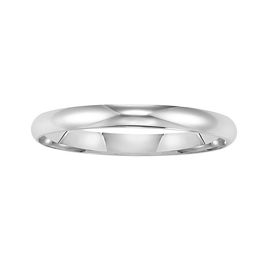 Gold Wedding Band, Womens 2mm 14K