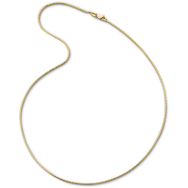 "Made in Italy 14K Yellow Gold 18"" 1.15mm Semi-Solid Fancy Snake Necklace"