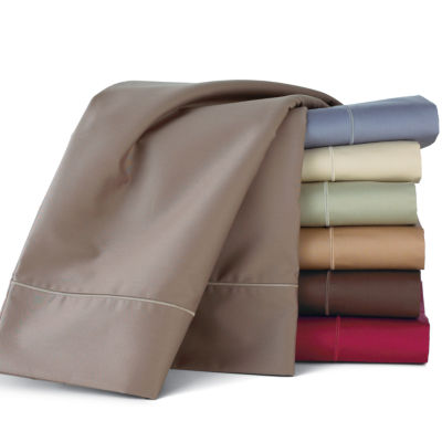Royal Velvet® 400TC Wrinkle Guard™ Set of 2 Pillowcases