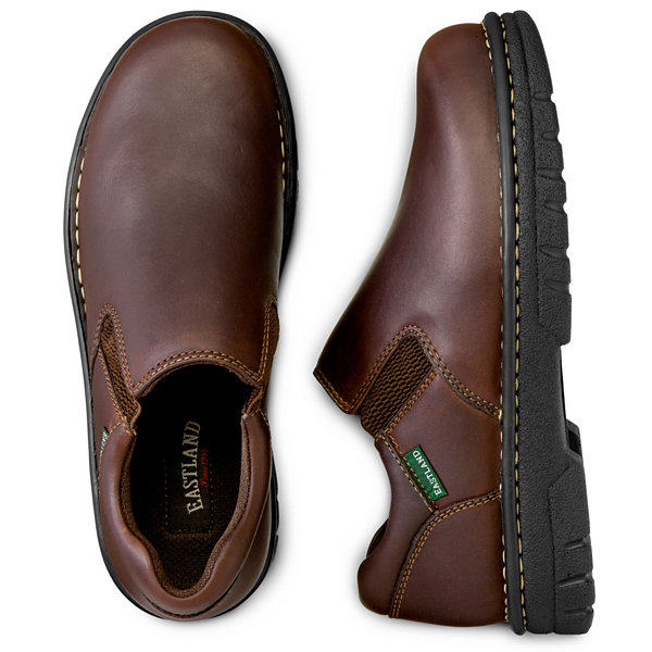 Eastland® Newport Mens Leather Slip Ons