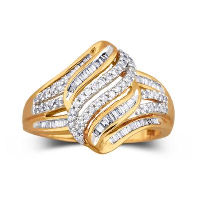 Diamond Ring 1/2 CT. T.W. 10K Gold