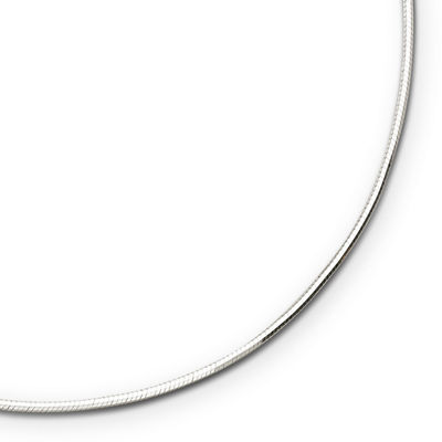 "Sterling Silver 18-30"" 2.2mm Snake Chain"