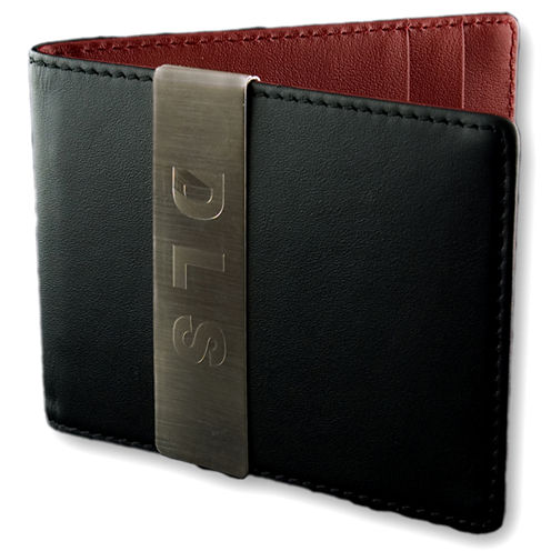 Engravable Front Pocket Wallet with Money Clip