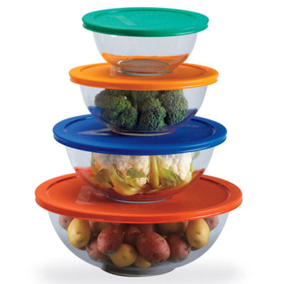 Pyrex® 8-piece Mixing Bowl Set