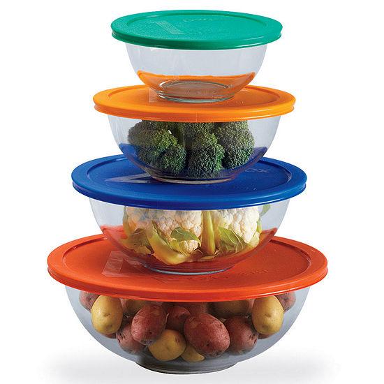 Pyrex® 8-piece Mixing Bowl Set - JCPenney