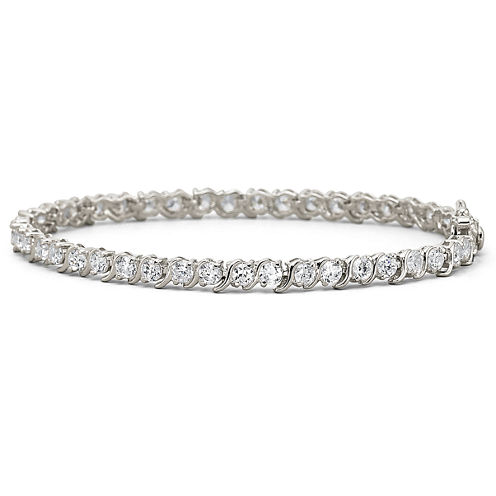 DiamonArt® 9.23 CT. T.W. Cubic Zirconia Tennis Bracelet
