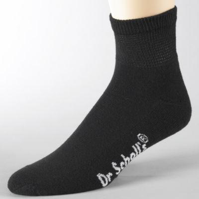 Dr. Scholl's® 2-pk. Non Binding Quarter Socks