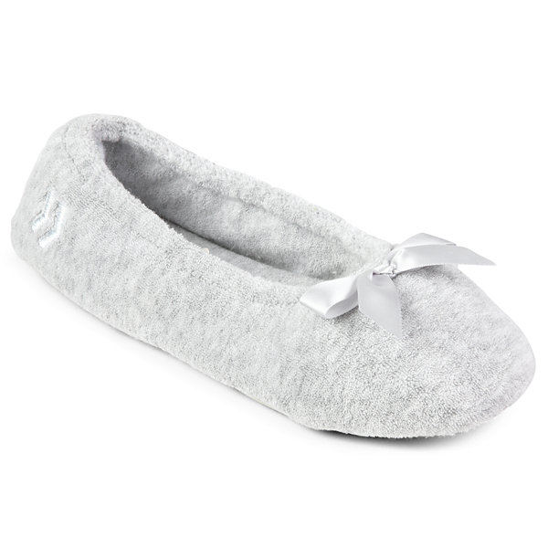 Isotoner® Terry Ballerina Slippers