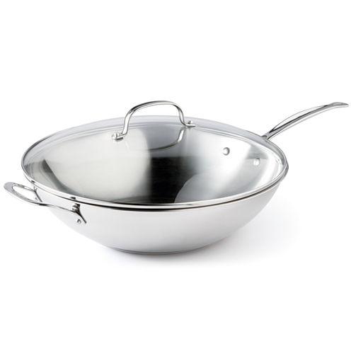 "Cuisinart® 14"" Stainless Steel Stir Fry Pan"