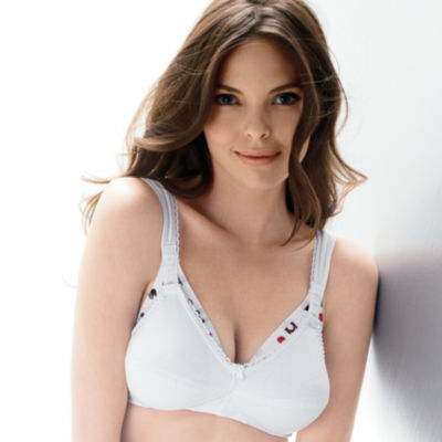 Leading Lady® Wireless Cotton Nursing Bra