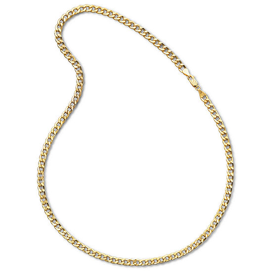 necklace curb gold chain wid p silver op yellow sharpen resmode over mens hei