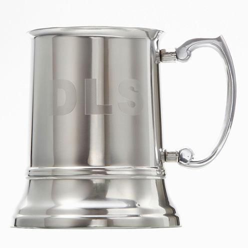 Engravable Stainless Steel Tankard Mug