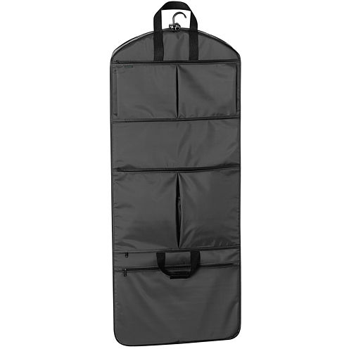 "WallyBags 52"" Tri-Fold with Pockets Garment Bag"