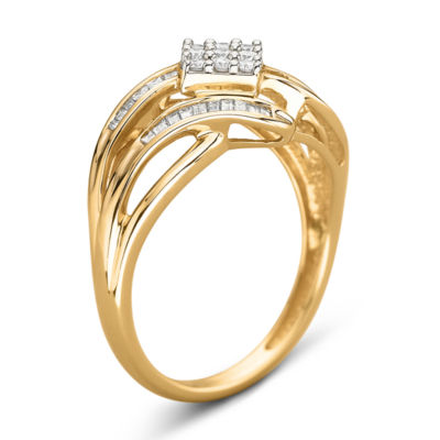 1/3 CT. T.W. Diamond 10K Gold Ring