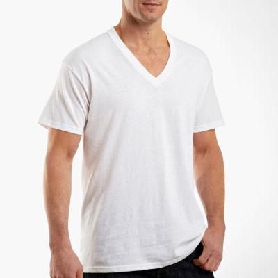 Hanes Men's FreshIQ™ ComfortSoft® V-Neck Undershirt 4-Pack