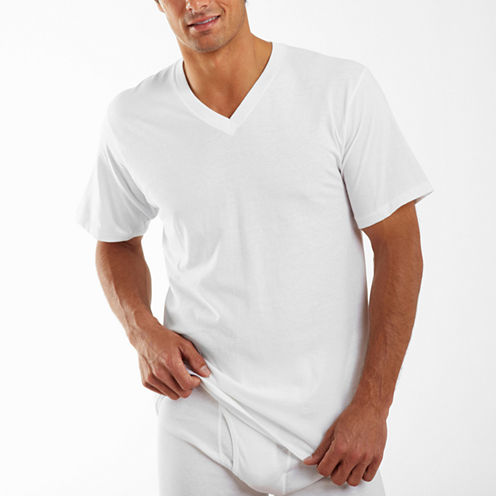Jockey® 2-pk. Classics V-Neck T-Shirts–Big & Tall