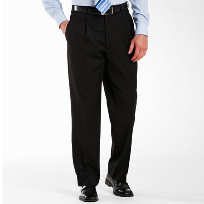 Adolfo® Pleated Black Suit Pants
