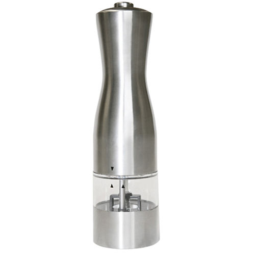 iTouchless® EZ Hold Stainless Salt and Pepper Grinder