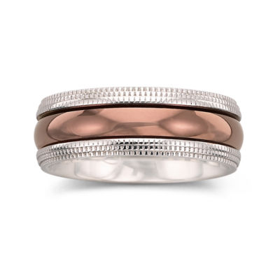 Mens Ring, 8mm Comfort Fit Band