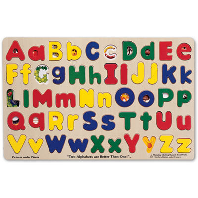 Melissa & Doug® Upper & Lowercase Alphabet