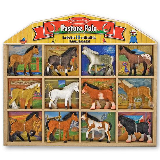 Melissa & Doug Pasture Pals Toy Horses