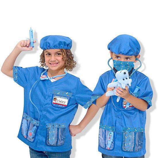 Melissa & Doug Veterinarian Role Play Costume Set Unisex Costume