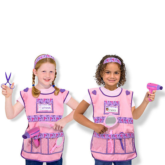 Melissa & Doug Hair Stylist Role Play Set Girls Costume
