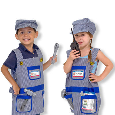 Melissa & Doug® Train Engineer Role Play CostumeSet