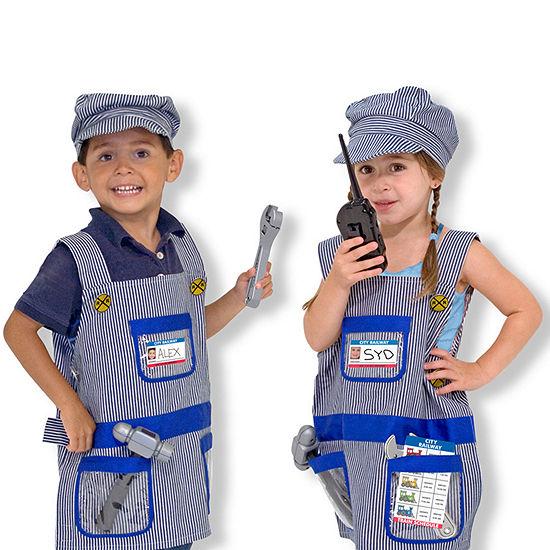 Melissa & Doug Train Engineer Unisex Costume